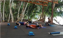 Playa Nicuesa Rainforest Lodge Amenities - Yoga