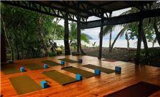Peaceful Yoga Deck