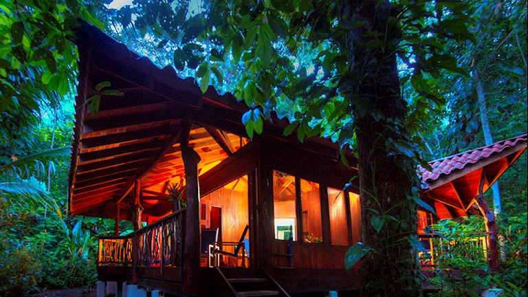 Nicuesa Lodge is one of the 6 Best Glamping Resorts & Luxury Tent Camps in Costa Rica