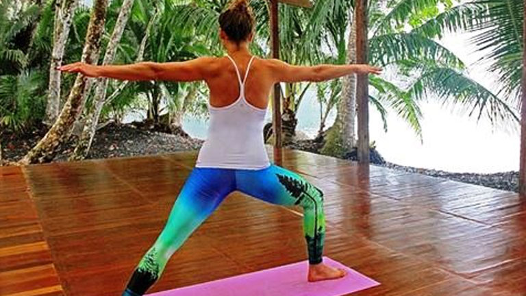 Yoga in nature at Playa Nicuesa Rainforest Lodge