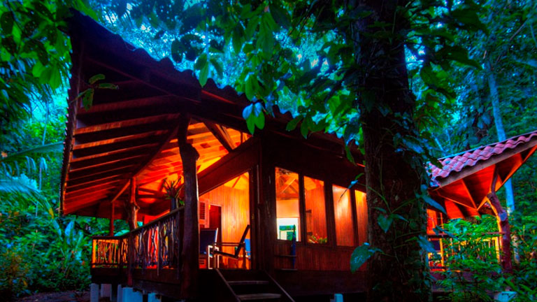 Two-bedroom cabin at Playa Nicuesa Rainforest Lodge in Costa Rica