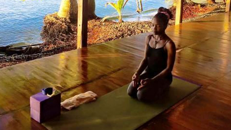 Peace and tranquility in paradise on a Costa Rica yoga vacation at Playa Nicuesa Rainforest Lodge
