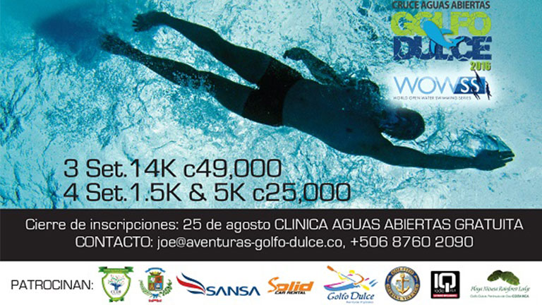 Golfo Dulce Open Water Crossing event!