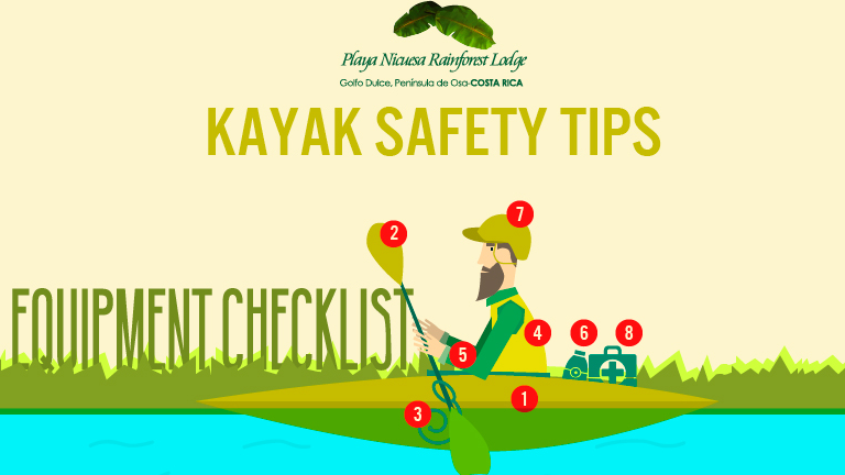 Infographic Kayak Safty Tips