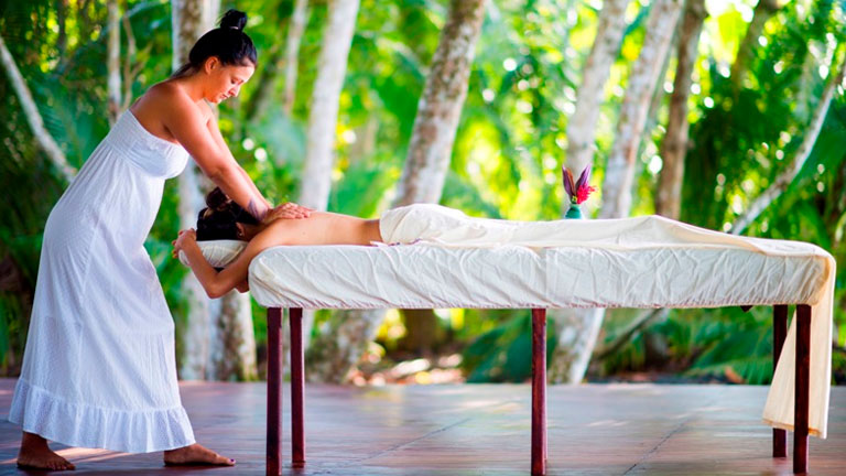 Rainforest Aromatherapy Massage at Playa Nicuesa Rainforest Lodge