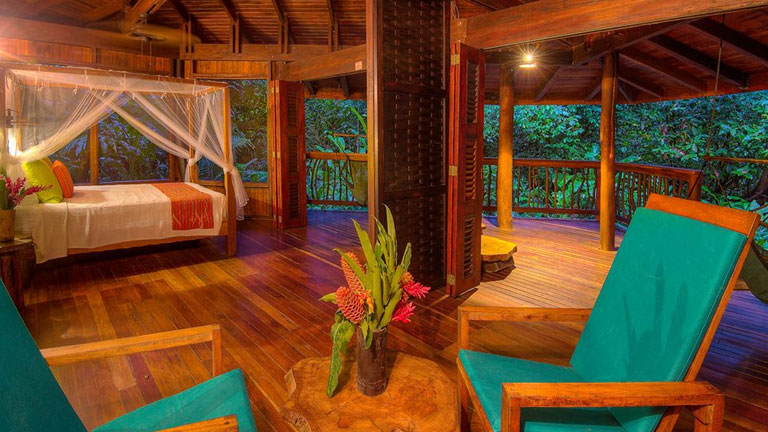 Enjoy an adventure in the Costa Rica rainforest on the shore of Golfo Dulce, with all the comforts of an award-winning ecolodge at Playa Nicuesa.