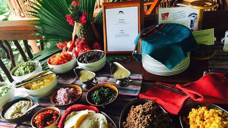 Meet our kitchen staff at Nicuesa Rainforest Lodge