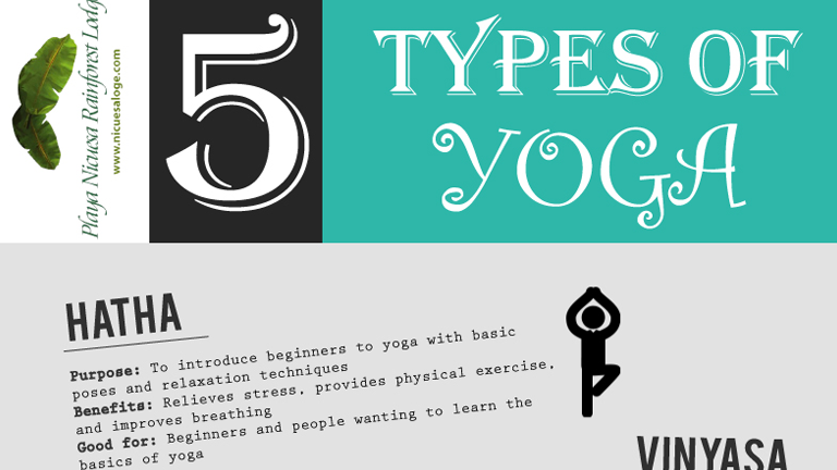 5 Types of Yoga