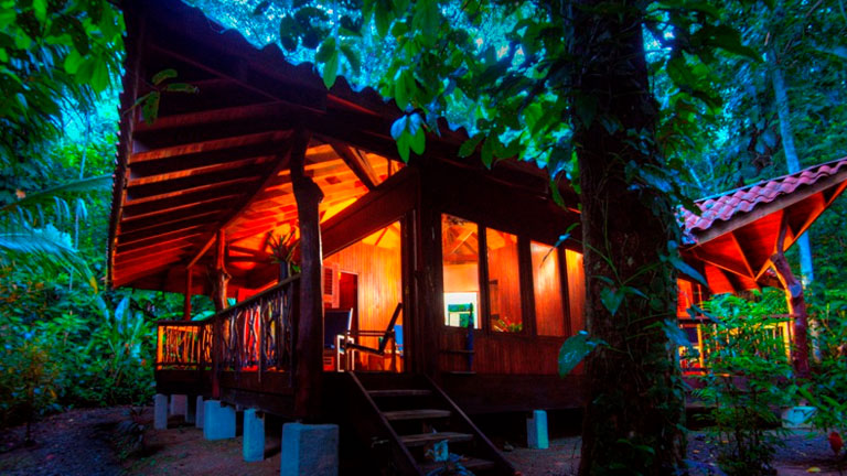 Eco-friendly Playa Nicuesa Rainforest Lodge in Costa Rica