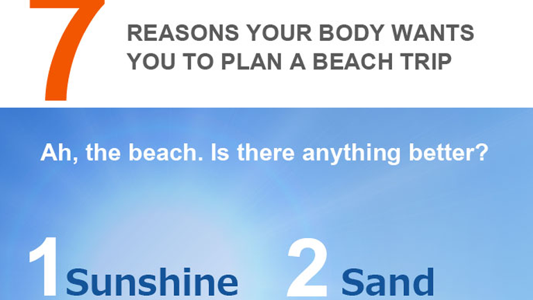 7 Reasons your Body Wants you to Plan a Beach Trip