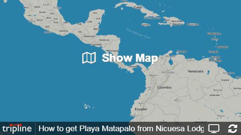How to get to Playa Matapalo from Nicuesa Lodge