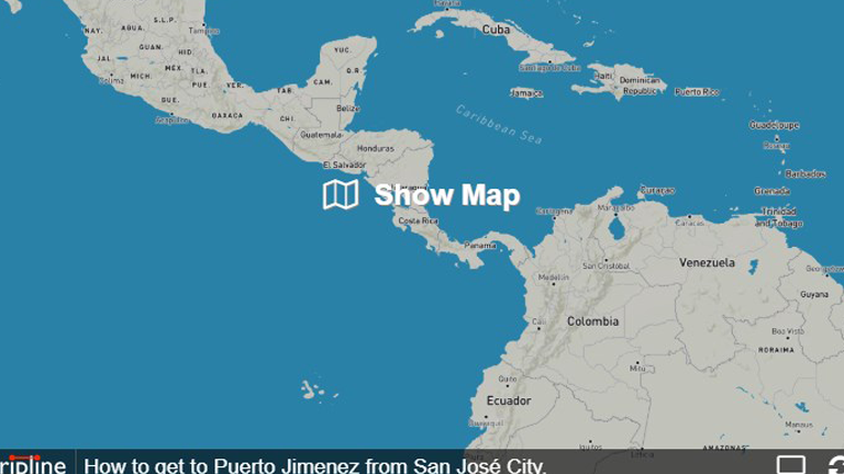 How to get to Puerto Jimenez from San José City.