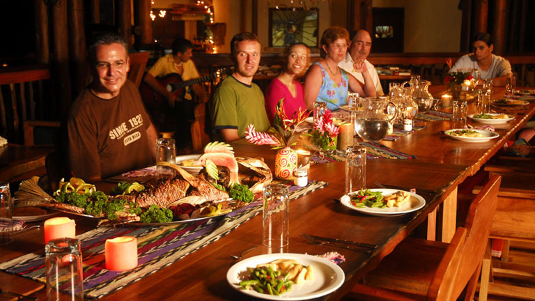 See Why Guests Love Dining at Nicuesa Lodge