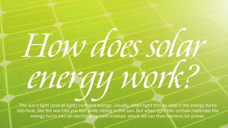 Solar Energy Work