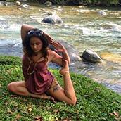 Cindy Esquivel - Yoga Teacher at Nicuesa Lodge