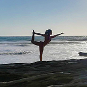 Monica Mora - Yoga Teacher at Nicuesa Lodge