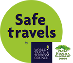 The Safe Travels badge