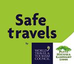The Safe Travels badge