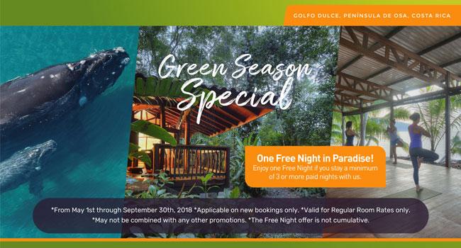 Green Season Special