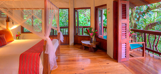 Mango Guest House at Playa Nicuesa Rainforest Lodge, Osa Peninsula