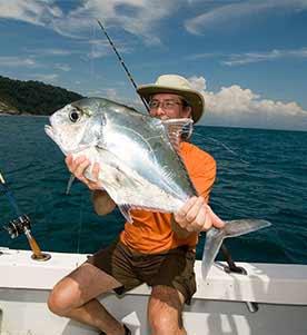 Fishing at Osa Peninsula